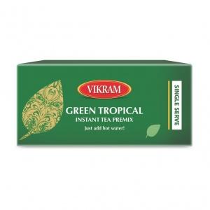 Green Tropical Instant Tea Premix